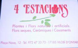 Logo Floristeria Vilobi d'Onyar