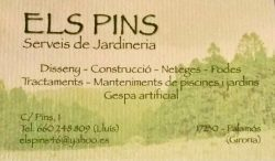 Logo Els Pins Serveis Jardineria