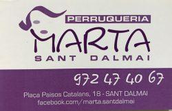 Logo Perruqueria Marta