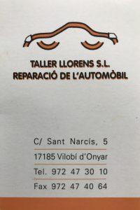 Logo Taller Llorens